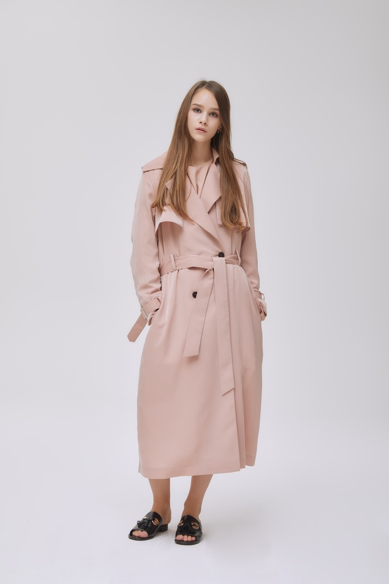 Silkt Trench Coat
