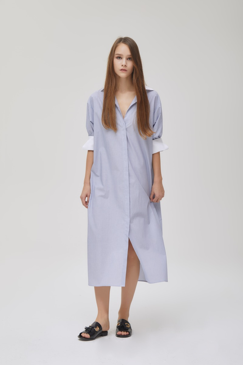 Kelton Shirt Dress