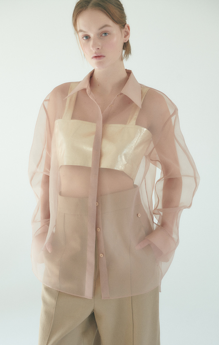Silk Organza Shirts