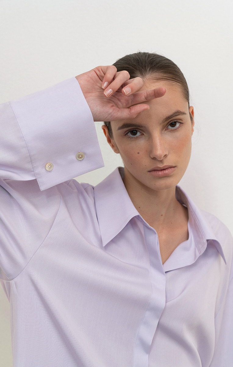 Wide cuffs shirts