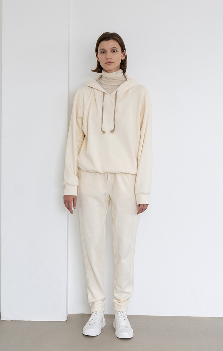 Sophie Drawstring Cotton Trackpants