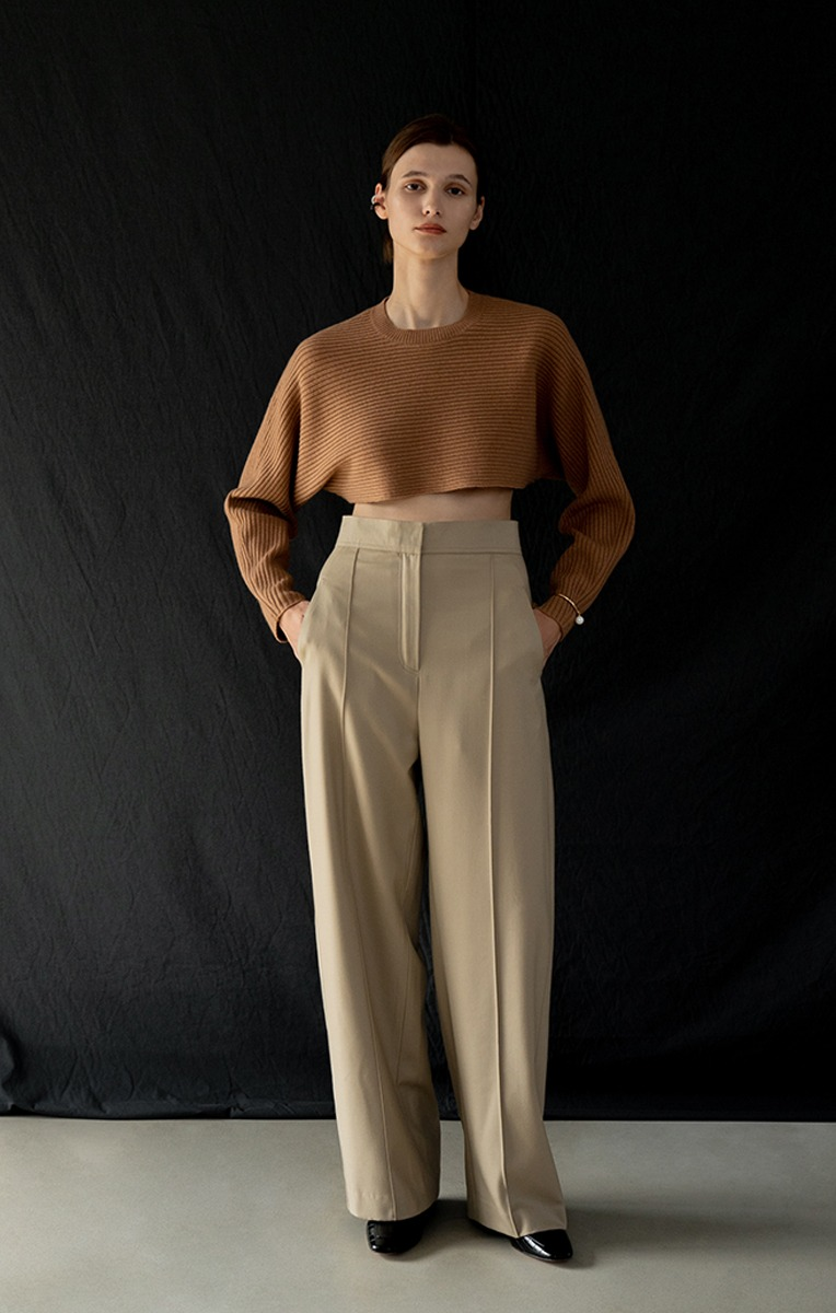 Kess Wool Wide Pants